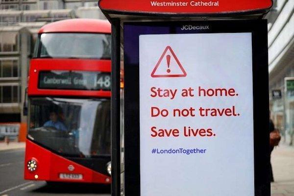 اقدامات جدید شهردار لندن برای مقابله با کرونا در پی مرگ 20 راننده