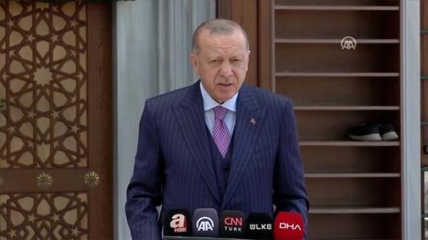 حرکت اردوغان علیه یک کودک جنجال آفرید، عکس